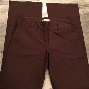 Forever brown dress pants. Sz M (7/8)